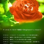 フィルムトイカメラ写真教室(大阪)〜二期生募集中